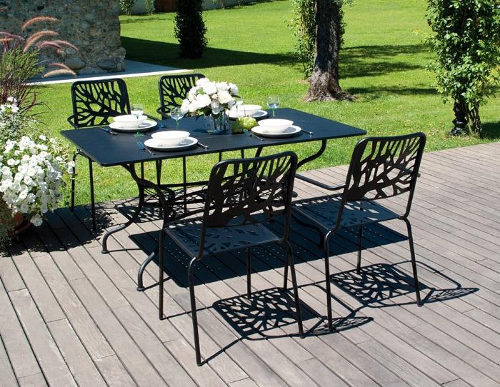 Arredo da giardino per il relax arredamento da esterno in for Arredo da giardino in alluminio
