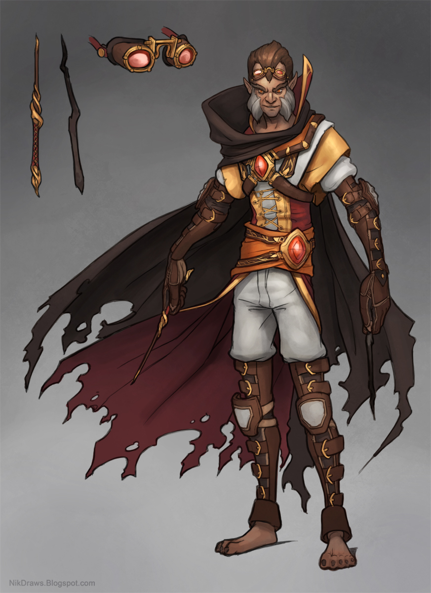 Character Design D D : Nik draws dnd characters zoraxas part