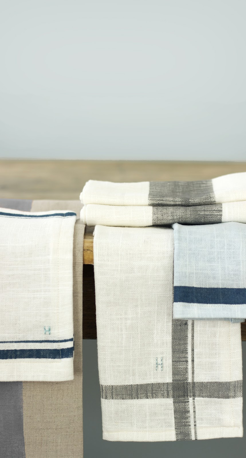 Jenny Steffens Hobick: Hand Painted Linen Kitchen Towels & Napkins ...