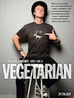 Paul McCartney e Morrissey estampam selos especiais da PETA