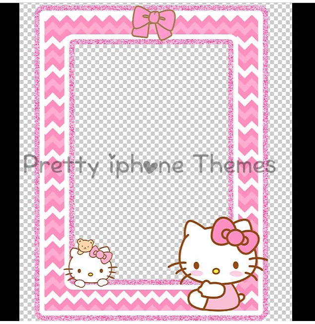 iPhone hello kitty phone case for iphone 4s : Hello kitty Picture Frame - iWidget