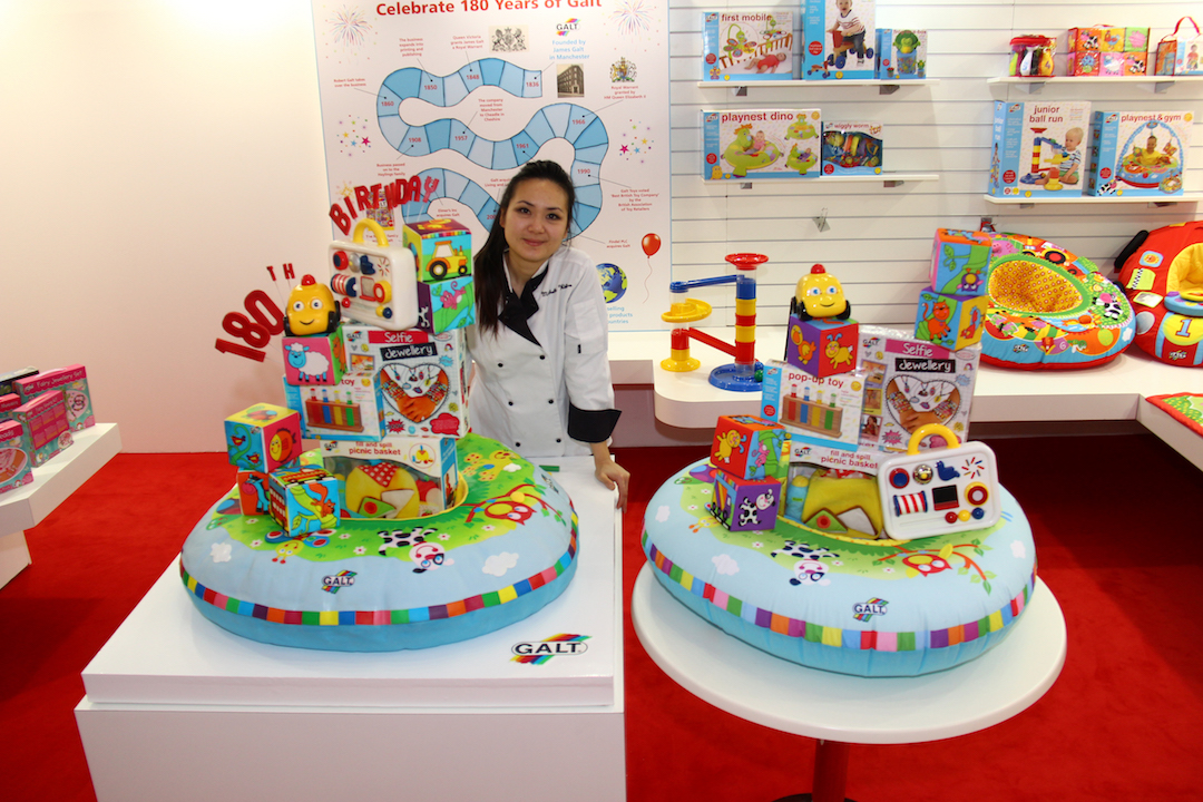 Galt Toys Celebrates Its 180th Birthday With Edible Toy Cake Sculpture