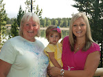 Vicky with her oldest daughter Nancy and her daughter Whitney