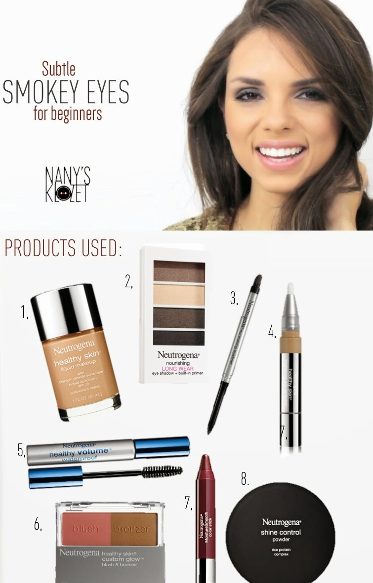 fashion, miami fashion, miami fashion blogger, fashion bloggers, daniela ramirez, nany's klozet, beauty, smokey eyes for beginners, video tutorial, neutrogena