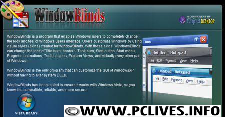 download full version Windows Blinds 6.4 Full free