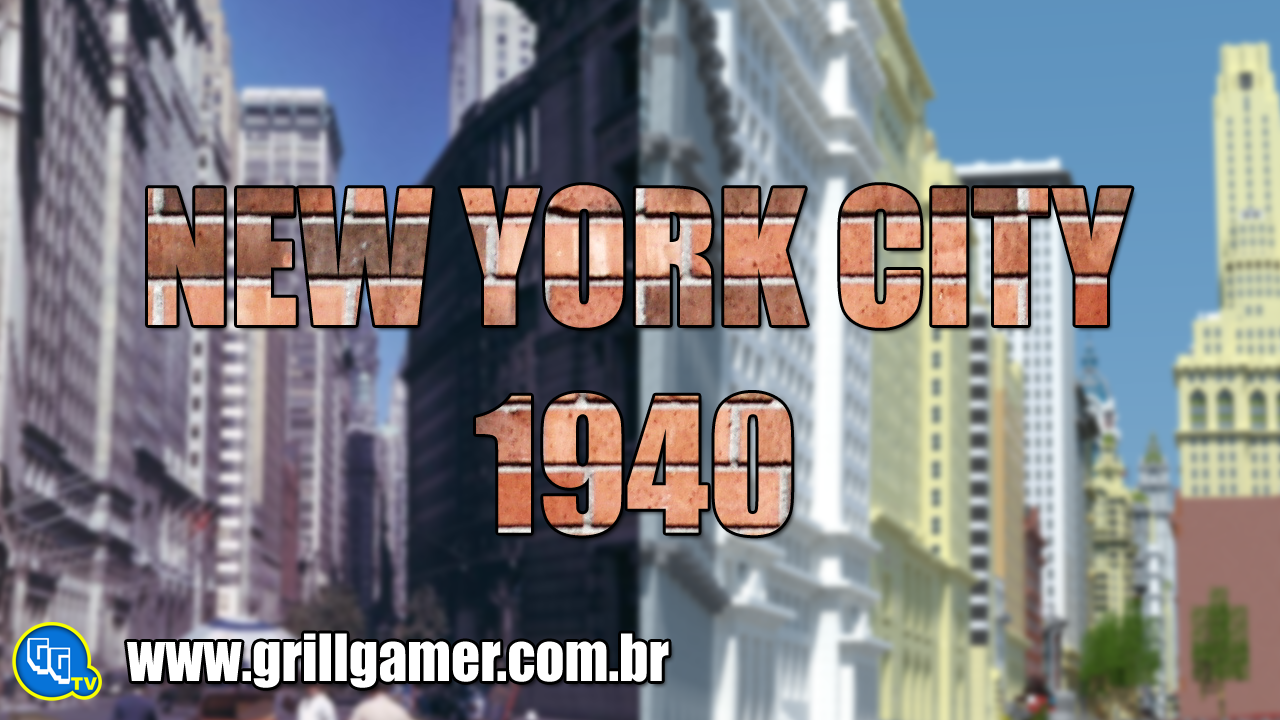 New York Cities 1940′s Map para Minecraft 1.8.1/1.7.10/1.7.2