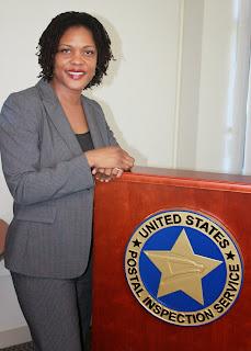 U.S. Postal Inspector Stephaine Harden.