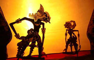 how to make wayang kulit puppet step by step