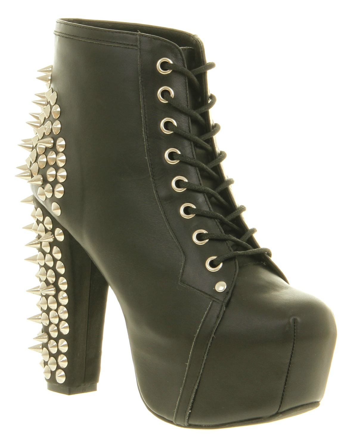 shoe of the day spiky lita by jeffrey campbell never enough shoes. Black Bedroom Furniture Sets. Home Design Ideas