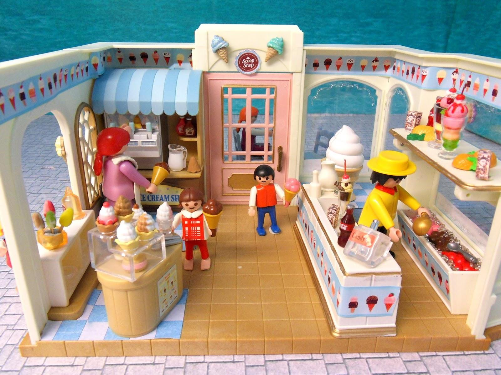 Scoop Ice Cream Shop Emma J S Playmobil
