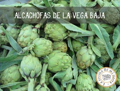 alcachofas de alicante