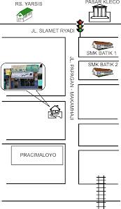 Denah Lokasi PRISMACOM