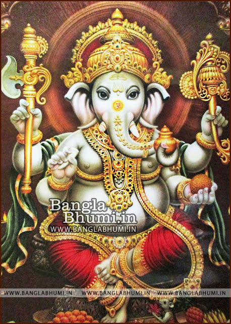 Lord Ganesha New Indian God HD Poster Wallpaper Free Download