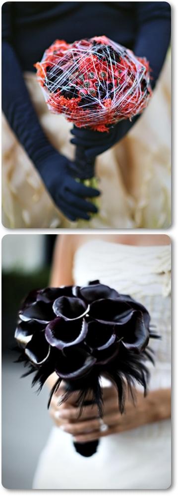 blommor halloween, bukett halloween, brudbukett halloween, bouquet halloween, flowers hlloween, bridal bouquet halloween