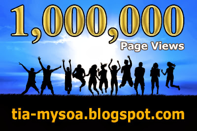 Over One Million Page Views!