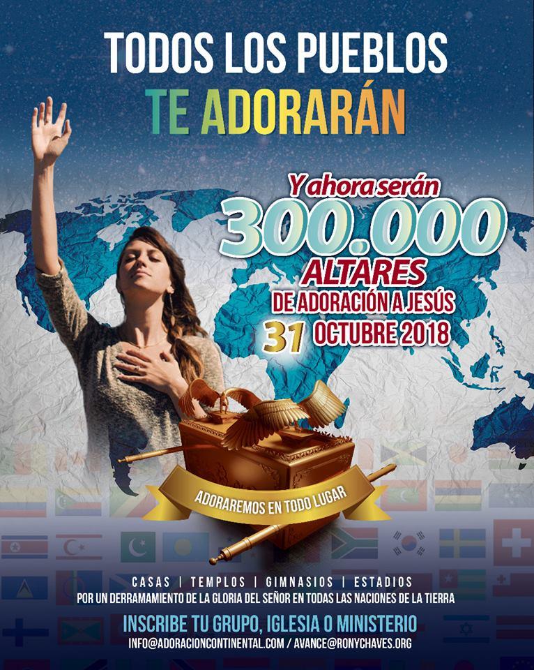 300,000 ALTARES DE ADORACION