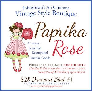 Paprika Rose Vintage Style