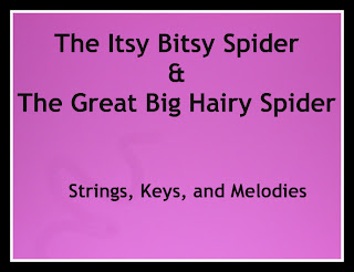 Finger Play Fun Day:  The Itsy Bitsy Spider and The Great Big Hairy Spider photo