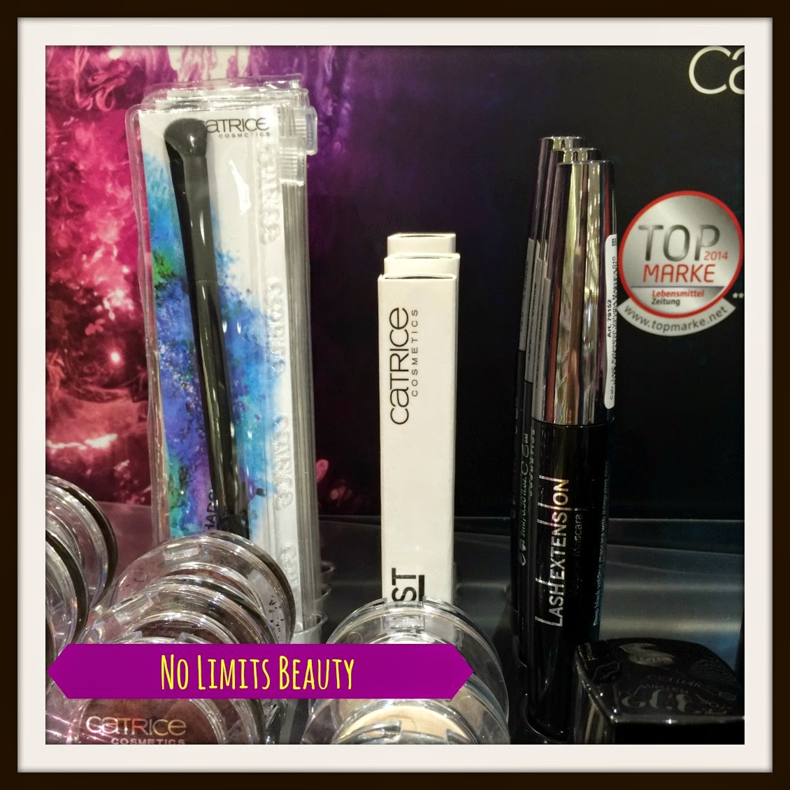 Catrice - It Pieces - Duo Eyeshadow brush - Lash Boost Extension Fibres - Lash Extension Volume Mascara