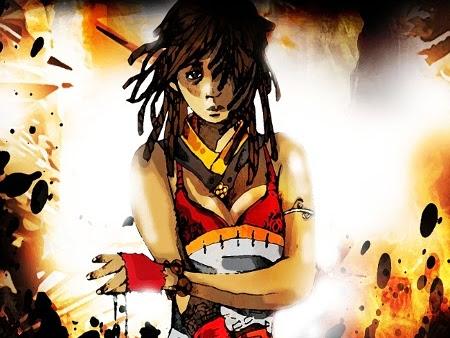 Coeur de flammes, tome 1 : Le visage de l'ombre de Iman Eyitayo