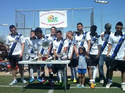 CLUB UNION AMISTAD MEJOR TERCER PUESTO  2012 / 2013