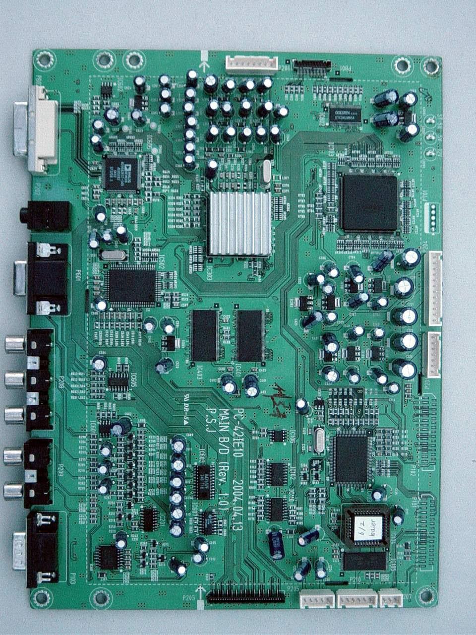 Printed Circuit Boards ~ Hyundai h pdp p lv t plasma key components part