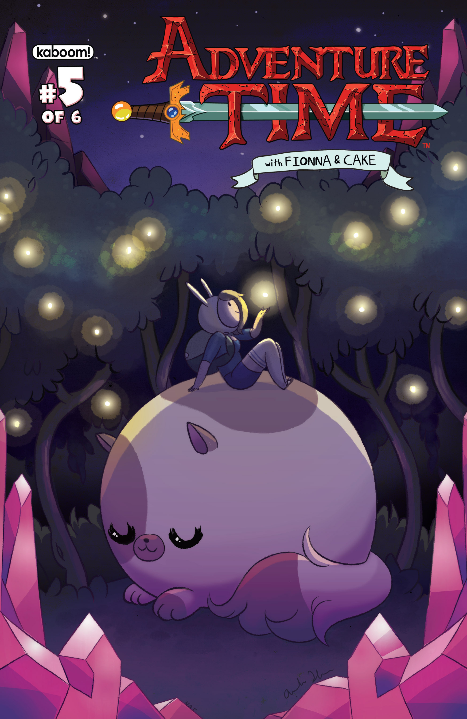 Read online Adventure Time with Fionna & Cake comic -  Issue #5 - 1