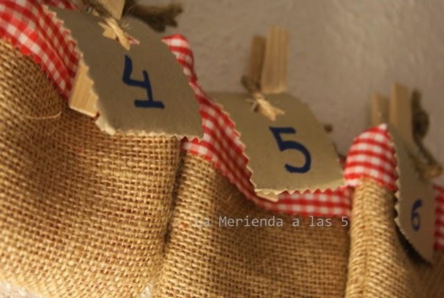 La Merienda a las 5 Navidad, Calendario Adviento