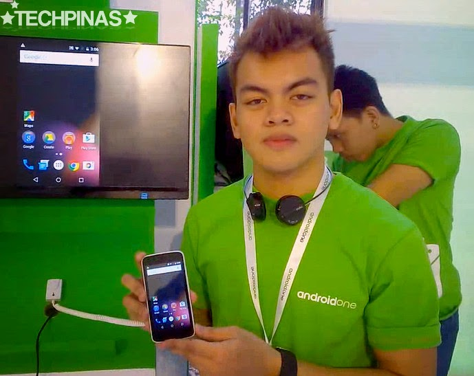 MyPhone Uno, Android One Philippines, Nathaniel Castro, Google Student Ambassador
