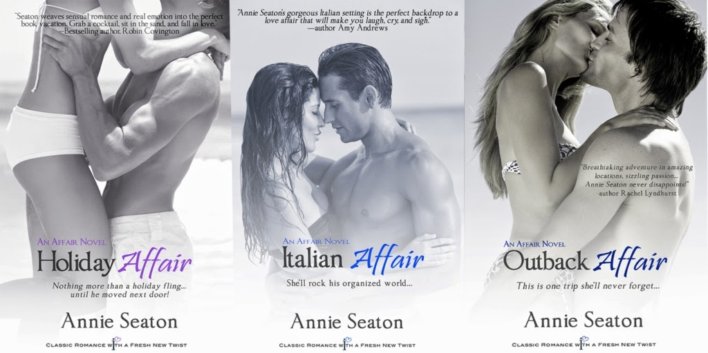 Romance Abroad bundle...my three Affairs books in one