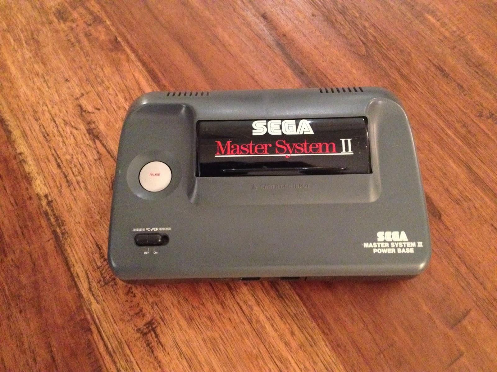 Final boss the sega master system - Console sega master system 2 ...