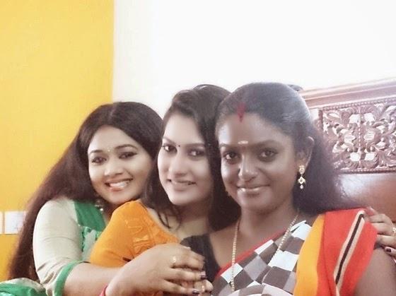 Karuthamuthu Serial Location X'mas Celebration Photos