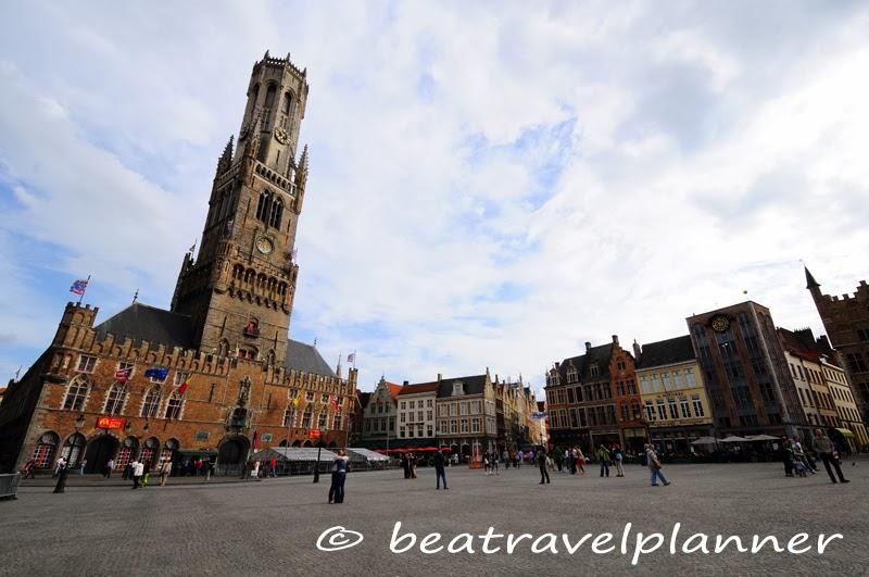Bruges - Piazza del Mercato