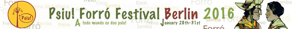 Psiu! Forró Festival Berlin 2017