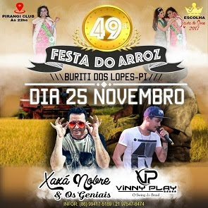 FESTA DO ARROZ 2017 - BURITI DOS LOPES