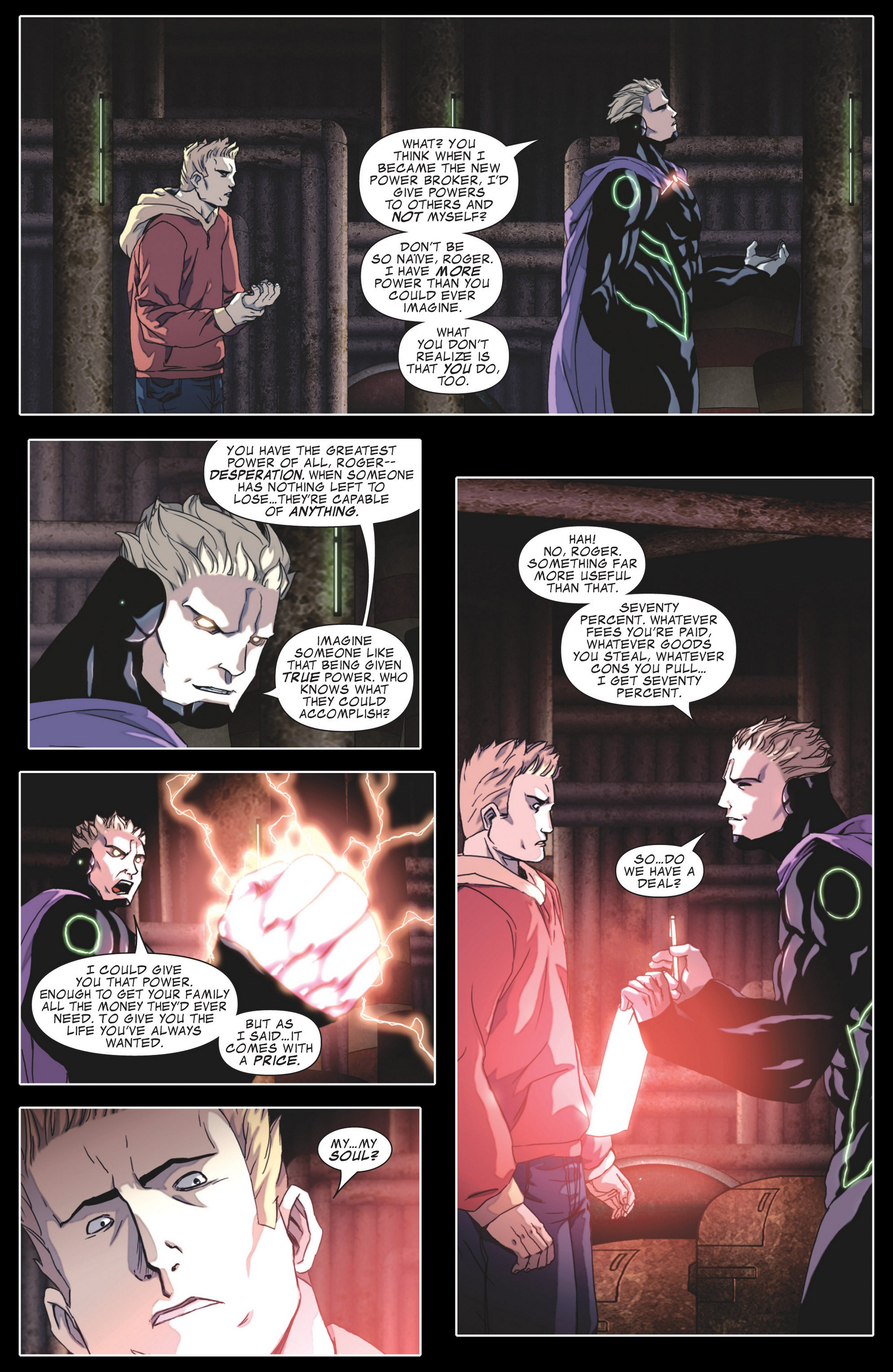 Read online Secret Invasion: The Infiltration comic -  Issue #4 - 21