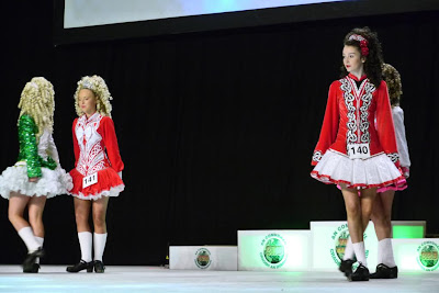 Dancers take the stage at the 2013 World Irish Dance Championships.