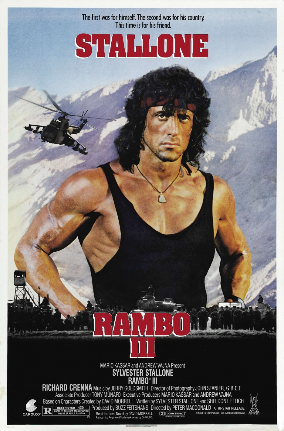 Rambo III (1988) - A Review