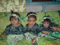 alya, niesa, syasya 1 tahun