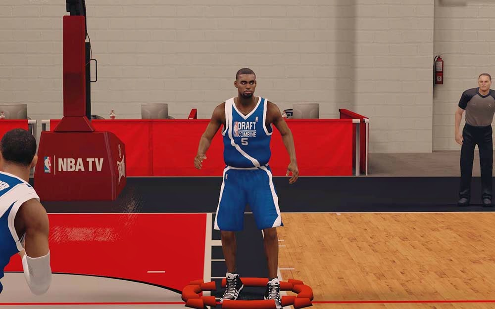 NBA 2K14 Draft Combine Jersey Mods