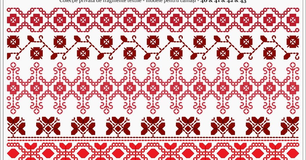 Semne cusute romanian traditional motifs oltenia dolj romanati - Beautiful romanian folk motifs ...