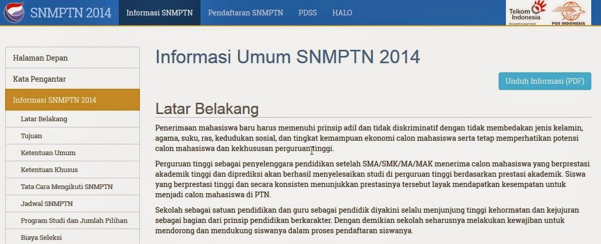 Cara Melihat Pengumuman Hasil SNMPTN 2014