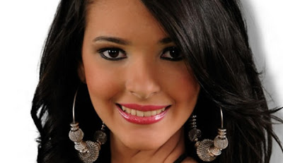 Miss Senorita Honduras 2012 winner Jennifer Valle