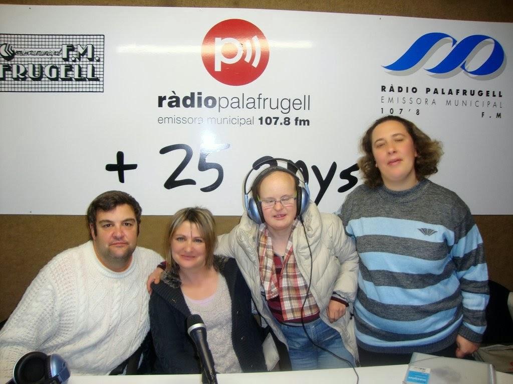 """A Radio Palafrugell en el PROGRAMA """"DE TU A TU"""" (Associació el Trampolí) http://www.eltrampoli.net/"""