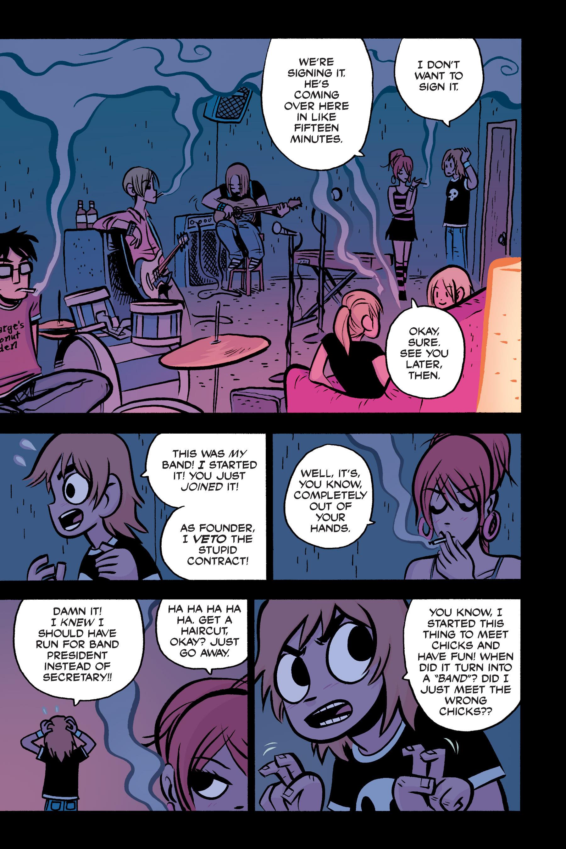 Read online Scott Pilgrim comic -  Issue #3 - 134