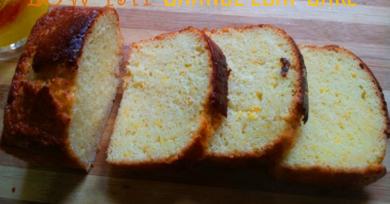 YUMMY TUMMY: Low Fat Orange Loaf Cake ( No Butter) & A GREAT NEWS TO ...