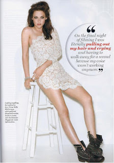Kristen Stewart, Glamour Magazine Cover Girl
