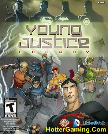 Free Download Young Justice Legacy PC Game Cover Photo