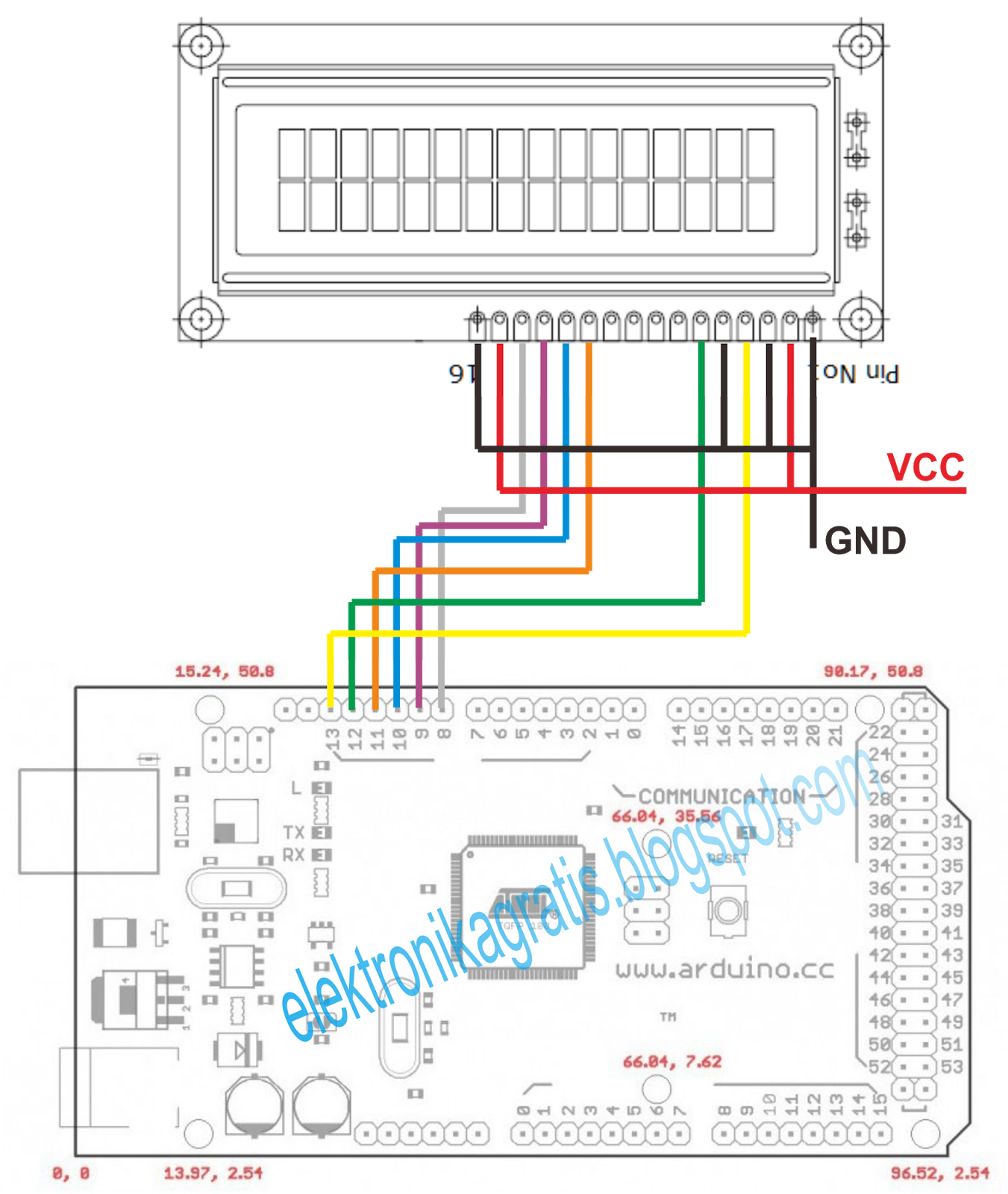 Elektronika gratis tutorial arduino indonesia lcd