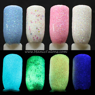 Glow in the dark glitter